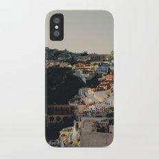 Fira at Dusk Slim Case iPhone X