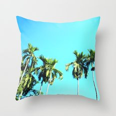 Beetle Nut Tree Throw Pillow
