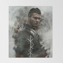 Warrior Throw Blanket