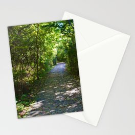 Point Pelee National Park Trails in  Leamington, Ontario, Canada Stationery Cards