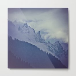 Above the tree line Metal Print
