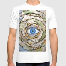 Seeing Through Illusions  Mens Fitted Tee White MEDIUM