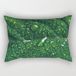 Leaf Macro Rectangular Pillow