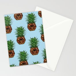 Pineapple Persian Cat Stationery Cards