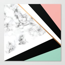 Marble III 031 Canvas Print