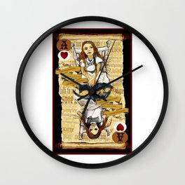 'Alice' (Alice in Steampunk Series) Wall Clock