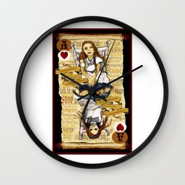 'Alice' (Alice in Steampunk Series) Wall Clock