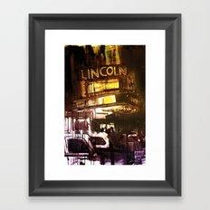 The Lincoln Framed Art Print