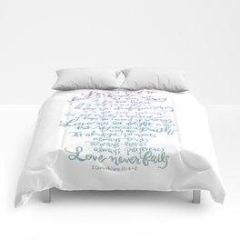 Love is patient, Love is Kind-1 Corinthians 13:4-8 Comforters
