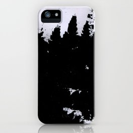 smudge iPhone Case