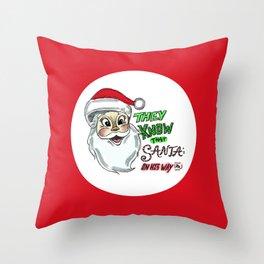 The Christmas Song Throw Pillow