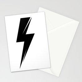 Lighting bolt  Stationery Cards