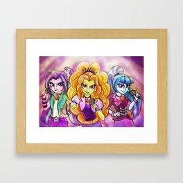 The Dazzlings Framed Art Print
