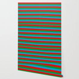 Azerbaijan flag stripes Wallpaper