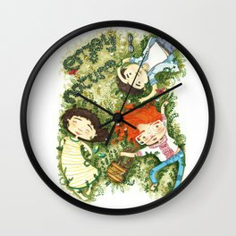 Enjoy nature Wall Clock