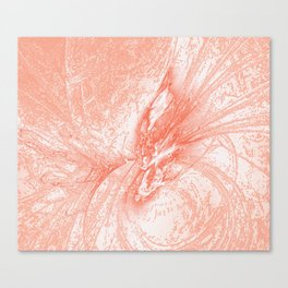 Splatter in Guava Canvas Print