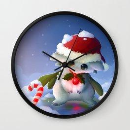 Mistletoe Nigri Wall Clock