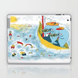 Look, honey!...the humans are migrating again!!! Laptop & iPad Skin