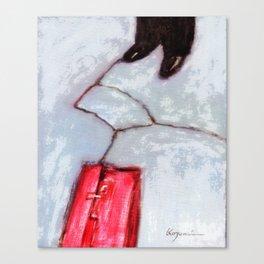 A Traveler Canvas Print