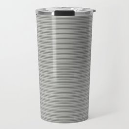 Benjamin Moore Cinder Dark Gray Triple Horizontal Stripes on Color of the Year 2019 Metropolitan Travel Mug