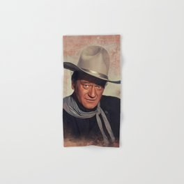 John Wayne, Actor Hand & Bath Towel