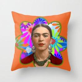 FRIDA KAHLO SEPIA Throw Pillow