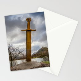 Sword of Llanberis Snowdonia Stationery Cards
