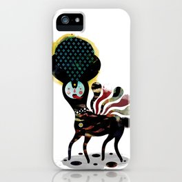 Muxxi & Alvaro Tapia / Duality iPhone Case