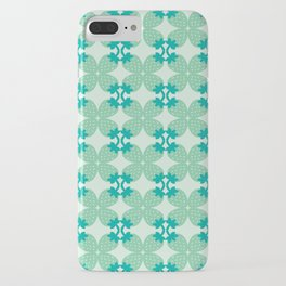 Pattern: Blue Strawberries iPhone Case