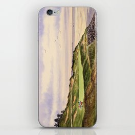 Whistling Straits Golf Course Hole 7 iPhone Skin
