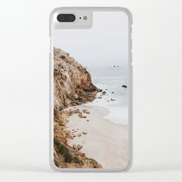 malibu coast / california Clear iPhone Case