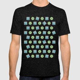 Cute Monster Pattern T-shirt