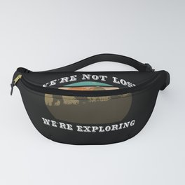 Mountaineer gift outfit hiking t-shirt men Fanny Pack
