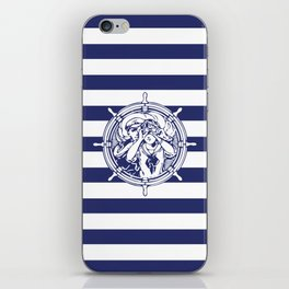 Sail Away With Me iPhone Skin