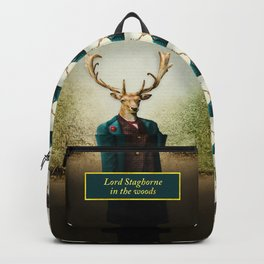 Lord Staghorne in the wood Backpack
