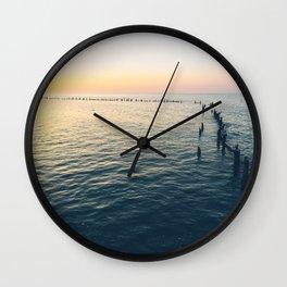 Sunset Key West Wall Clock