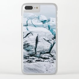 Glacial World of Iceland - Landscape Photography Clear iPhone Case