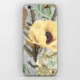 Yellow poppies. iPhone Skin