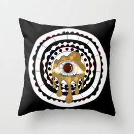 Glitterati CoSMic Eye Throw Pillow