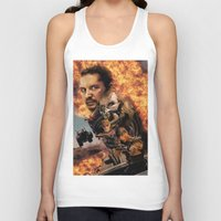 mad max Tank Tops featuring Mad Max by SB Art Productions