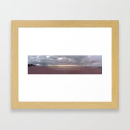 Moonta Bay, South Australia - Panorama 5 Framed Art Print