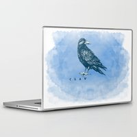 ravenclaw Laptop & iPad Skins featuring WordPlay 2: Ravenclaw by Sreetama Ray