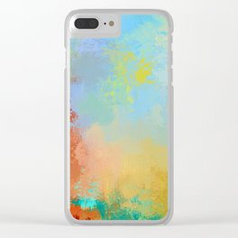 Expressions 26 Clear iPhone Case