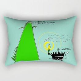 Candlelighting... Rectangular Pillow