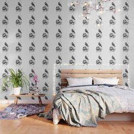 New skull (bw) Wallpaper