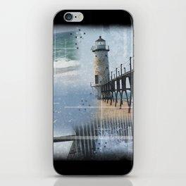 Manistee Lighthouse MI iPhone Skin