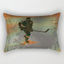 The Game Changer - Ice Hockey Tournament Rectangular Pillow