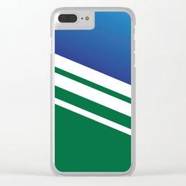 Stripes II Clear iPhone Case