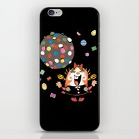 saga iPhone & iPod Skins featuring the neverending saga by kemiemo