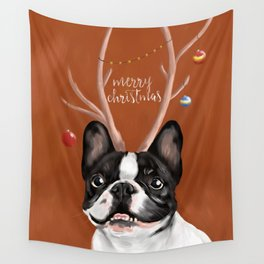 Beatriz : Christmas Wall Tapestry